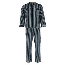 New Hanes Men's Big & Tall Broadcloth Long Sleeve Pajama Set