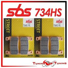Pastiglie Anteriori SBS HS Sinter Per HONDA CBR 600 F 1999 99 2000 00 (734 HS)