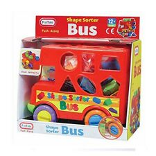 Baby Toy Push Along Bus Shape Sorter FunTime NEW!!