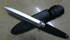 13''New ABS Handle Military Boot Dagger Survival Fixed Bowie Hunting Knife VTH49