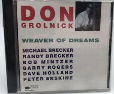 DON GROLNICK - Weaver of Dreams Michael Brecker (CD) Very Good