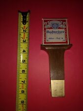 Budweiser Wood Beer Tap Handle 8""
