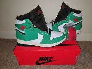 Nike Air Jordan High Lucky Green UK6.5