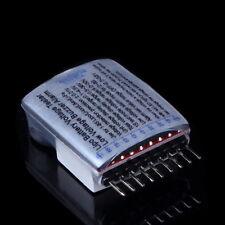 1-8S Lipo/Li-ion/Fe Battery Voltage 2IN1 Tester Low Voltage Buzzer Alarm GB