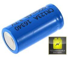 Piles rechargeables pour équipement audio et vidéo CR123A