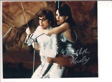 Mike Myers and Elizabeth Hurley Hand Signed with COA