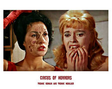 Yvonne Monlaur and Yvonne Romain UNSIGNED photo - H7886 - Circus of Horrors