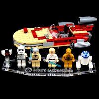 Acryl Display Stand Acrylglas Standfuss für LEGO 8092 Luke´s Landspeeder