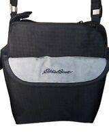 Eddie Bauer Camera Bag Travel Case Shoulder Bag 8 x 6 x 11 Multi Pocket BLK/GRAY