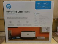 HP - Neverstop 1001nw Wireless Black-And-White Laser Printer - White