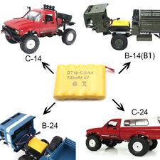 WPL Remote Control Car Battery For all WPL Models B-14 B-24 C-14 C-24 6V 700mAh