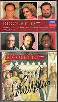 Leo NUCCI Signiert VERDI: RIGOLETTO PAVAROTTI June ANDERSON GHIAUROV CHAILLY 2CD
