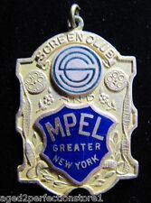 Antique Screen Club and Motion Picture Exhibitors League MPEL Medallion New York