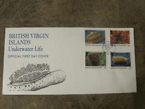 1998 British Virgin Islands FDC / Cover - Underwater Life - Nature