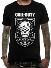 Call Of Duty Black Ops Skull T Shirt Official NEW S L XL