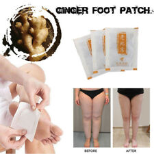 Ginger Essential Oil Detox Foot Patch Relax Sleep Beauty Efficient Pads 10Pcs LZ