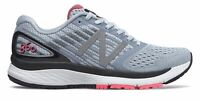 New Balance Women's 860v9 Shoes Blue with Pink