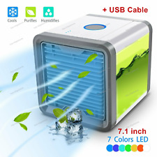Portable Air Cooler Humidifier Purifier Mini Air Conditioner Cooling Fan
