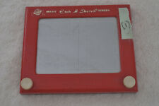 Etch a Sketch #505 Working Red Classic Toy Magic Screen Vintage Toy Ohio Art (1)