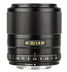 Viltrox 33mm F1.4 Auto focus XF Lens APS-C Mirrorless for Fujifilm Fuji X Mount