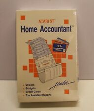 RARE Home Accountant by Haba for Atari ST - NEW