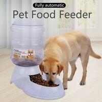 Cyber Monday  Pet Dog Cat Feeder Gallon Automatic Dispenser Eat Food Gravity Bo