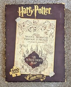 Harry Potter The Marauders Map Jigsaw Puzzle 500 Piece