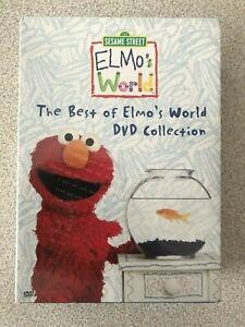 NISP The Best of Elmo's World DVD Box Collection - 3 DVD Set