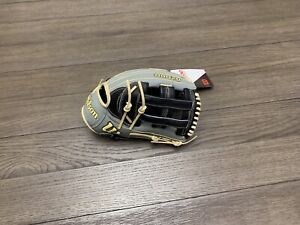 "New 2021 Wilson A2000 1799 12.75"" H Web Baseball Glove Gray Black"
