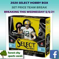 2020 Select Football Hobby Box Break- Individual Teams- Livestream 5/7 @11pmEST