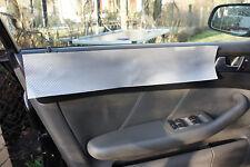 BMW 1er E87 E81 3D CARBON SCHWARZ ZIERLEISTEN FOLIEN SET 3D CARBON SILBER