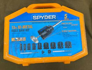 Spyder (600887) - Bi-Metal Hole Cutter Saw Kit - 13 Piece Set.....FREE S&H!!!