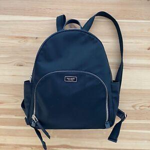 KATE SPADE New York Black Large Backpack Bag