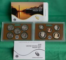 2018 S US Mint ANNUAL 10 Coin Proof Set Original Box and COA Complete