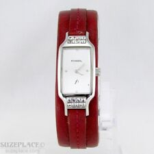 FOSSIL F2 LADIES WATCH ALL STAINLESS STEEL CASE WR 30 MT 1 J' RONDA MVT