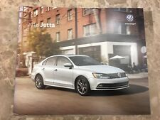 2018 VW JETTA 16-page Original Sales Brochure
