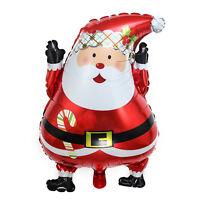 2016 Santa Claus Aluminum Foil Balloon Christmas Party Decor Merry Xmas Gift _