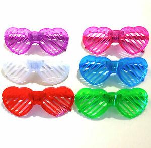fl17 Allument clignotant Nouveauté lunettes Papillon-Déguisements