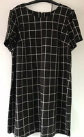 NEXT TAILORED SHORT SLEEVE,FULLY LINED ,SHIFT DRESS SIZE 20(48) RRP £45