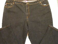 "Woman Within Women's Jeans Size 24W Inseam 27.5"" Natural Fit (2 Pair)"