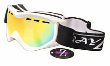 Rayzor Ski Snowboard Lunettes 100% UV400 ANTIFOG DOUBLE LENTILLE modèle riwtgo. RRP £ 69