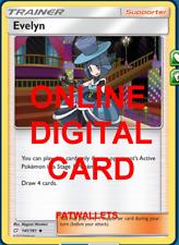 4X Evelyn 141/181 Pokemon Online Card TCG PTCGO Digital Card