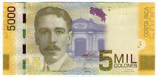 **   COSTA  RICA     5000  colones   2009   p-276a    UNC   **