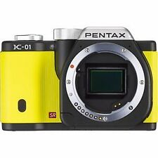 Pentax Digital Slr Camera K-01 Body Black / Yellow K-01Body Bk / Ye F/S