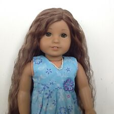 BEAUTIFUL Retired KANANI American Girl Doll Long Brown Curly Hair clothes shoes