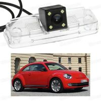 4 LED Car Rear View Camera Reverse Backup CCD for Volkswagen Beetle 2012-2014