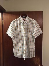 Hollister Vintage Men's Button Down Shirt, XL