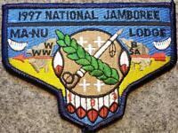 1997 National Jamboree Lodge 133 Ma-Nu DBL BDR(S42) Last Frontier Council OA/BSA
