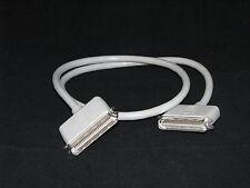 Apple 590-0306-A 590-0307-A Cable Computer 3 Ft Vintage SCSI Centronics 50 Pin