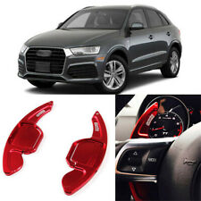 2pcs Alloy Add-On Steering Wheel DSG Paddle Shifters Extension For Audi Q3 13-18